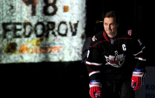 Fedorov is pulling out the old skates and getting back in the game. (Getty Images)