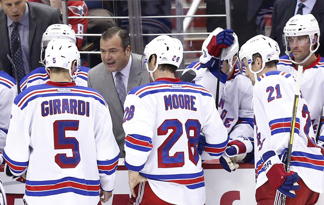 New York has been dealing with a learning curve with Vigneault. (USATSI)