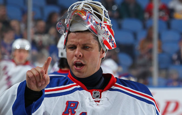 Biron hangs up his skates after being waived by New York. (Getty Images)