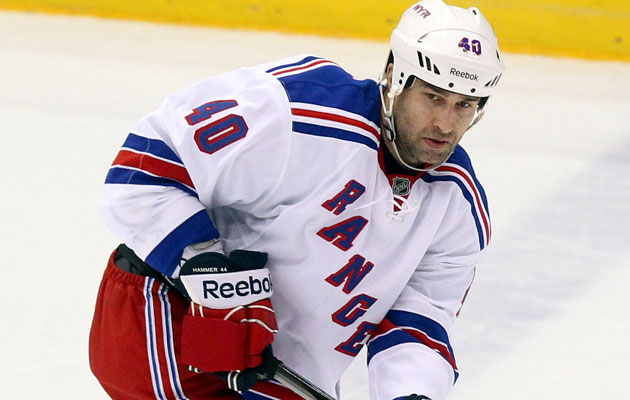 Hamrlik finished his NHL career in New York. (USATSI)