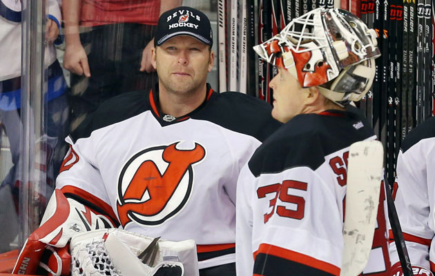 Brodeur and Schneider have been sharing the net to start the season. (USATSI)