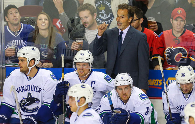 Tortorella isn't pleased with Vancouver's repuation for diving. (USATSI)