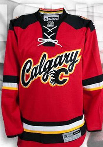 38e5e5d57 PHOTOS  Calgary Flames unveil new third jersey - CBSSports.com