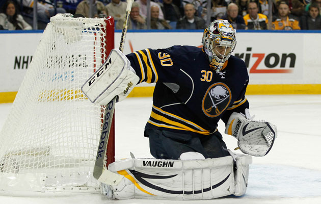 Miller has a .918 save percentage this season in Buffalo. (USATSI)