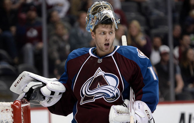 Varlamov is 7-1-0 in the young season for the Avs. (USATSI)