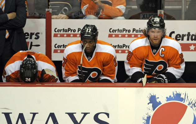 Giroux and Philly look like they'll be booking early-summer tee times. (USATSI)