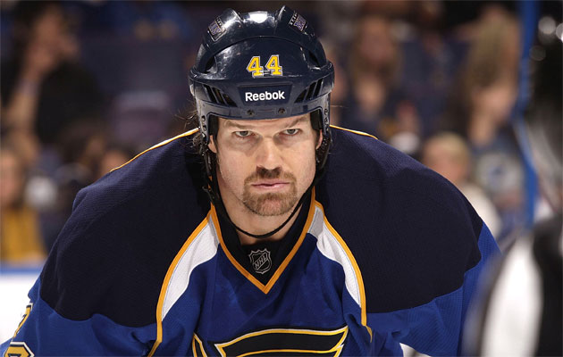 Arnott last played with St. Louis in 2011-12. (Getty Images)