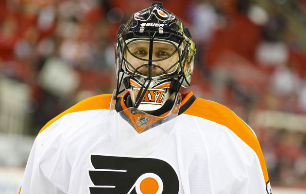 Bryzgalov is staying quiet on his time in Philly. (USATSI)
