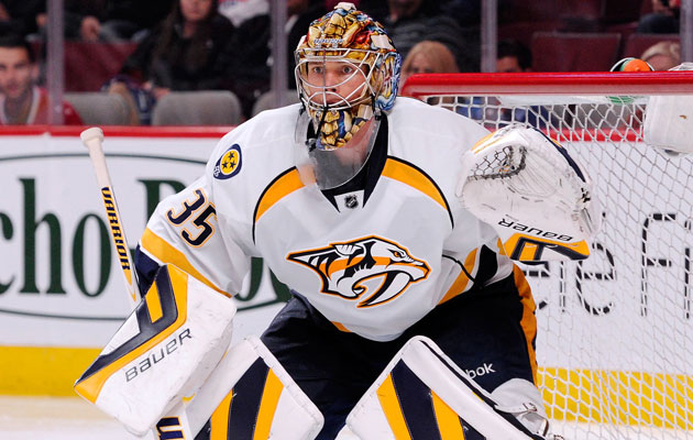 Rinne is going to be out for a few more weeks at least. (Getty Images)