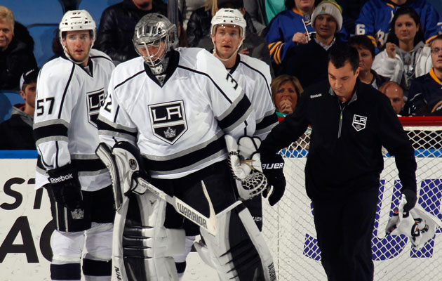 Image result for Jonathan Quick Injury