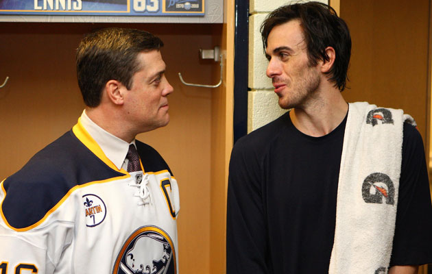 Pat LaFontaine will now be overseeing any Ryan Miller deal. (USATSI)