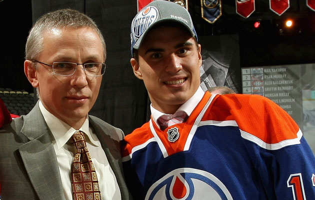 Larionov is in Edmonton to talk about Yakupov's role. (Getty Images)