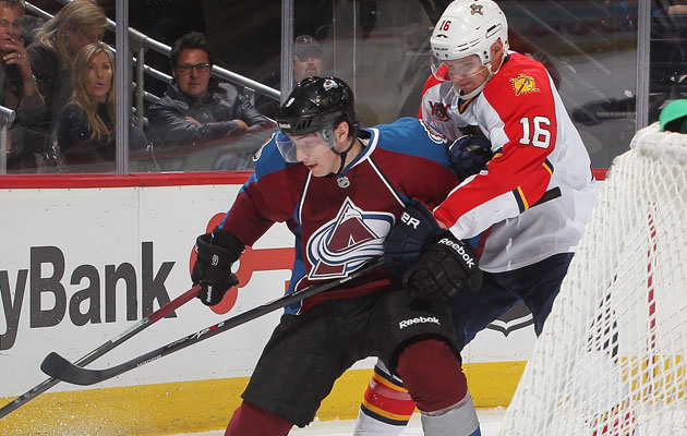 Duchene suffered an oblique injury on Saturday night. (Getty Images)