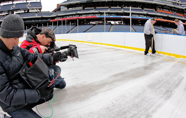 The cameras will be out in full force covering the league. (Getty Images)
