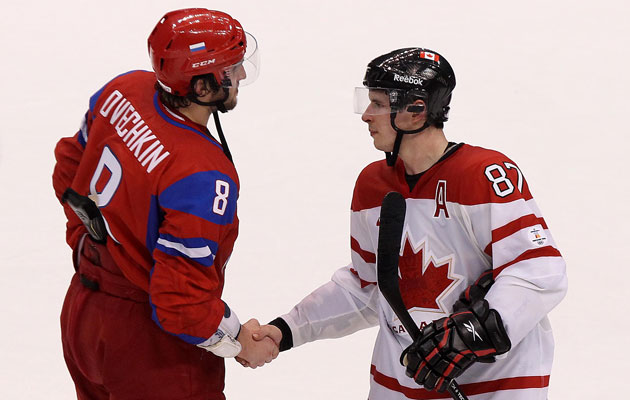Russia and Canada are named co-favorites for gold. (Getty Images)