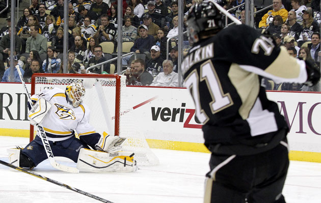 Malkin hasn't beaten a goalie in any of the last 14 games. (USATSI)