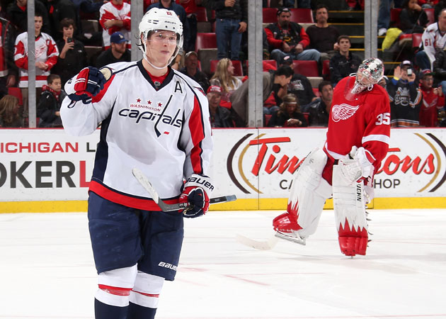 The Caps have benefitted from the shootout this season while the Wings have not. (Getty Images)