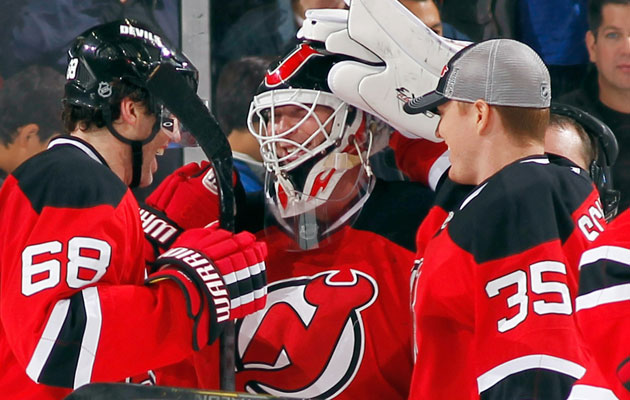 Brodeur has been getting the most of the minutes lately in New Jersey. (Getty Images)
