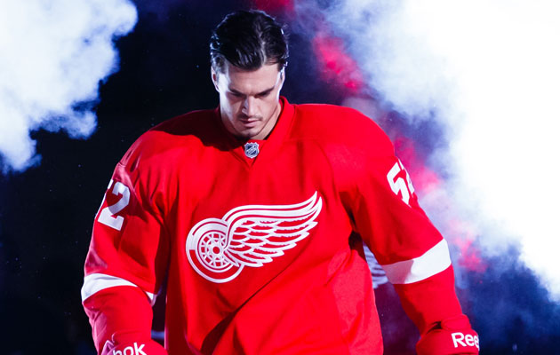 Ericsson was taken 291st overall by the Wings in 2002. (USATSI)