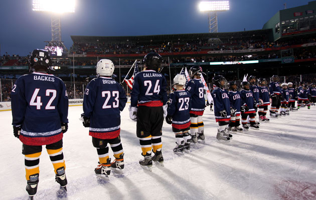 The USA announced its 2010 roster at the Winter Classic in Boston. (Getty Images)