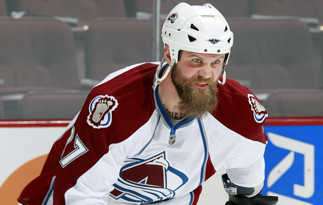 Parker had two stints with the Avs in his career. (Getty Images)