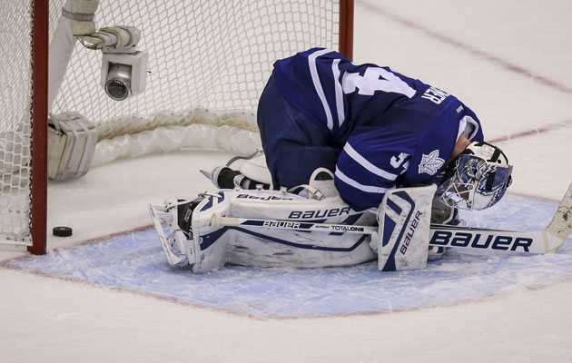 The Leafs' 10-point playoff cushion is down to three points. (Getty Images)