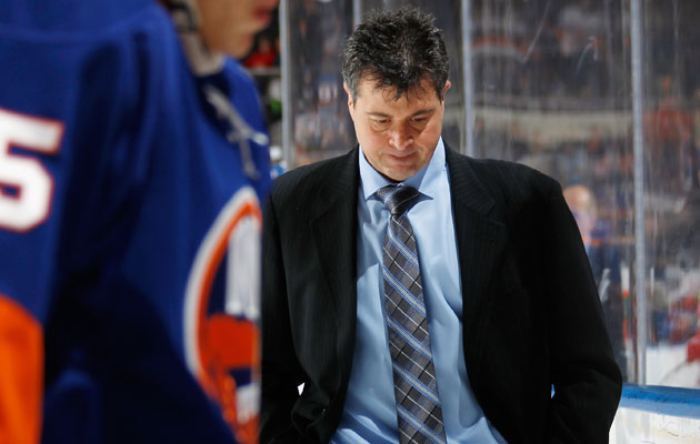 Capuano has a 93-101-33 record behind the Isles bench. (Getty Images)
