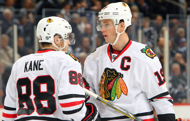 Patrick Kane and Jonathan Toews are two of the very best in the game. (Getty Images)
