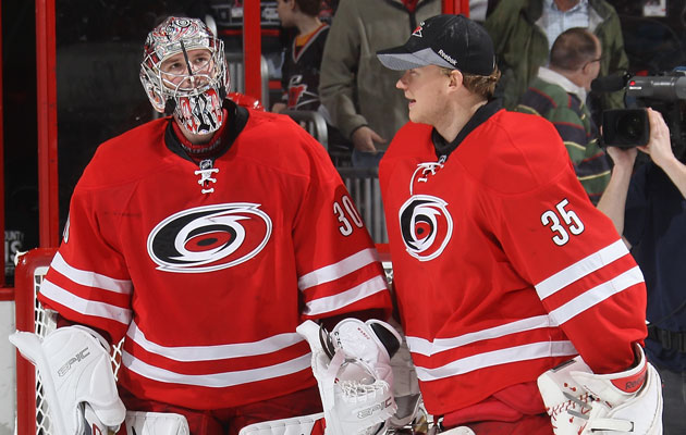 Peters (right) could be headed elsewhere soon. (Getty Images)