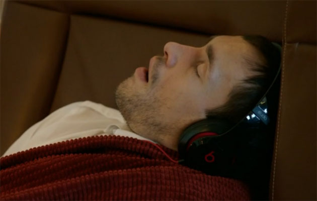One of Datsyuk's small cameos in the first episode. (Screen grab)