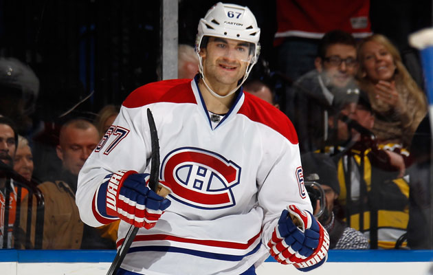 Pacioretty has been on fire lately and has 15 goals this season. (Getty Images)