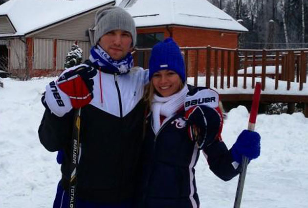 Maria kirilenko dating alex ovechkin highlights