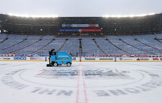 All indications have the ice for the Classic being excellent. (Getty Images)