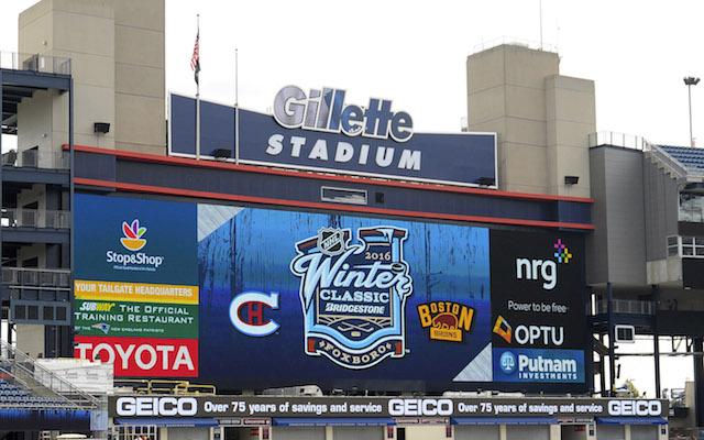 83c50e08e69 Gillette Stadium will host the 2016 NHL Winter Classic. (USATSI)