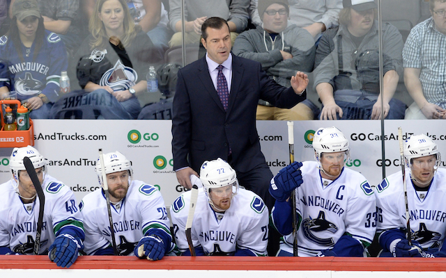 The Rangers introduced Alain Vigneault as their new coach on Friday. (USATSI)
