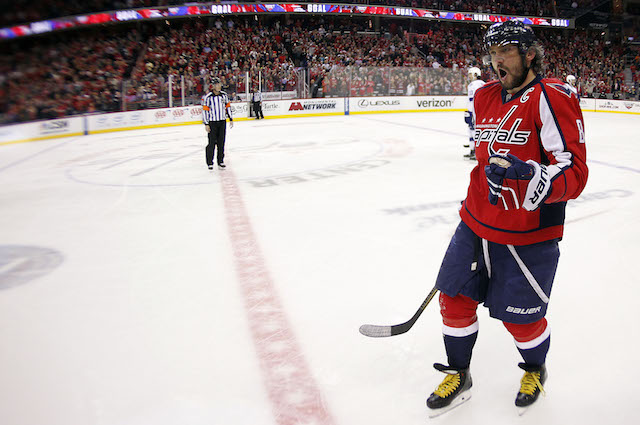609df4b097b Alex Ovechkin will have to sit out one game for the Washington Capitals.  (USATSI