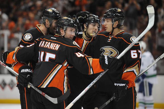 The Anaheim Ducks haven't scored many goals this season. (USATSI)