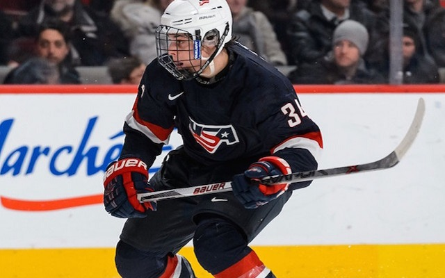 Auston Matthews is using his talents to Switzerland. The cause why can it matter?<br><br>Anytime somebody really does something different, it's news. However, Matthews provides essentially played a couple of numerous a long time of junior hockey whilst in the NTDP. Sure, juniors had been good enough regarding Connor McDavid, nevertheless anyone that will noticed McDavid knew that he only agreed to always be able to be toying with the age group level.<br><br>A native involving Scottsdale, Ariz., yes ARIZONA, Matthews spent the past two seasons in USA Hockey's National Team Development program in Ann Arbor, Mich. that couldn't survive the situation in higher education hockey as well as he'd merely get your self a weekly stipend inside the WHL. However, Matthews is no ordinary prospect.<br><br>Matthews will be wearing down the wall and showing that there's truly an additional option. college hockey program. Additionally, he will still be available for Team USA at the world Juniors this year, which will have multiple representatives from all 30 NHL teams in attendance.. Pertaining To North American players, this offers been really simple. It is actually type of like a hybrid between NCAA as well as WHL seasons, exactly where it's much more video games when compared with school and also fewer compared to significant junior. That's the path towards the NHL. National Under-18 Team, Matthews laid waste for the record textbooks at the vaunted program, many involving which are formerly held by simply Patrick Kane or Phil Kessel.<br><br>Here are generally three important items to know about Matthews and additionally this special move.<br><br>Matthews can always be a very unique case. He starred at the latest world Under-18 world Championship as well, which usually coincidentally took devote Switzerland. He in addition will probably be known because the youngster that took down just about all associated with Patrick Kane's records in the NTDP. Exactly what will this caused by his draft stock?<br><br>1. He played regarding Team USA in the Globe Juniors last year, has been one of the actual best players from the most current U18 Globe Championship featuring many players selected very throughout final year's draft. It's usually the other way around, within fact<br><br></div>                                    </div>                 <div class=