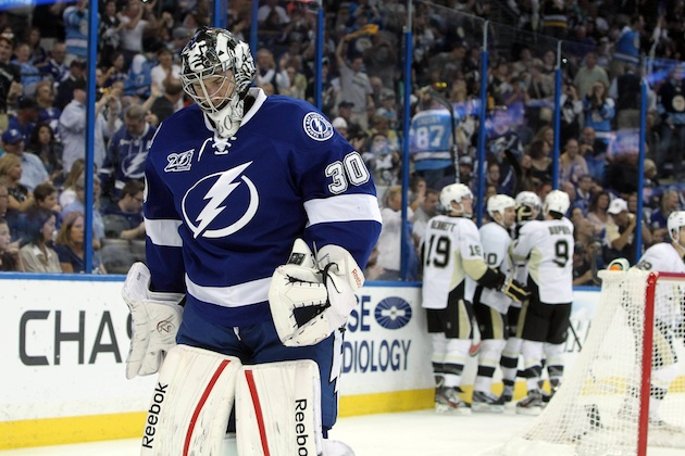 Ben Bishop has signed a two-year contract extension with the Tampa Bay Lightning. (USATSI)
