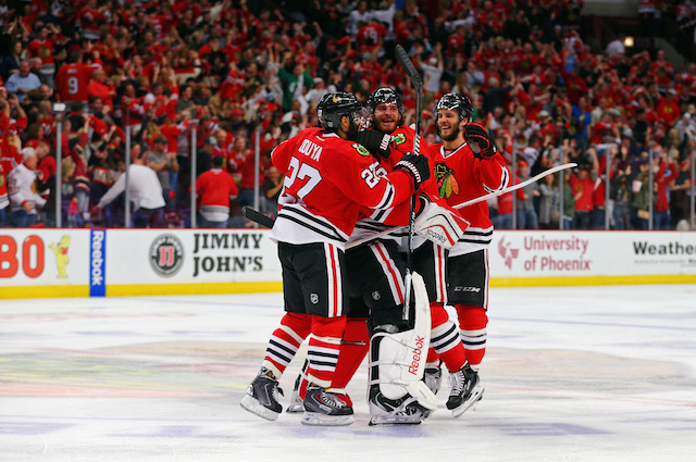 The Chicago Blackhawks look for another big Game 5 win. (USATSI)
