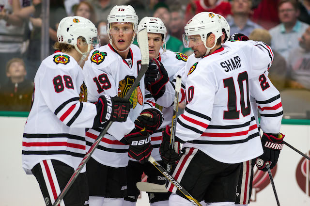 The Chicago Blackhawks are going for another Stanley Cup. (USATSI)