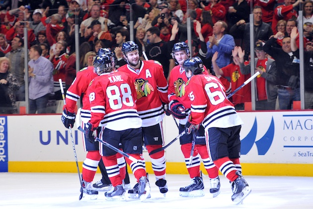 The Chicago Blackhawks have won the Presidents' Trophy. (USATSI)