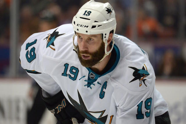 What do the Boston Bruins have to show for the Joe Thornton trade 10 years later? (USATSI)