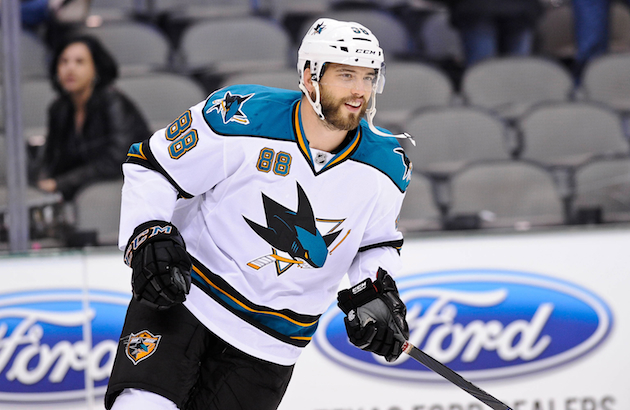 Moving Brent Burns to forward is just one of the moves that helped the Sharks turn their season around. (USATSI)