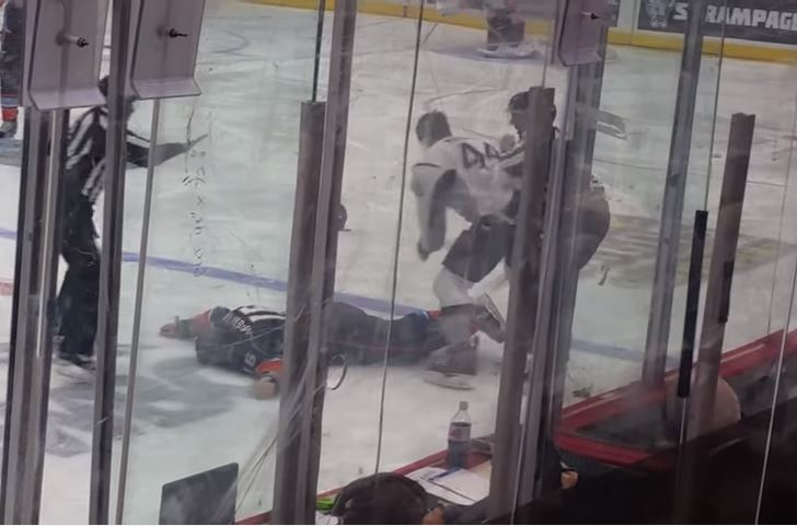 AHL: The Horrific Side Of Hockey Fights On Display Yet Again In Brutal Minor League Brawl