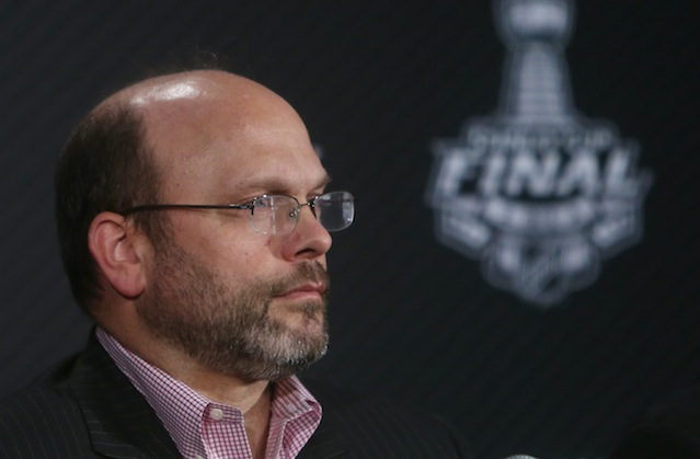 The Bruins and GM Peter Chiarelli expect to be pretty quiet the rest of the offseason. (USATSI)