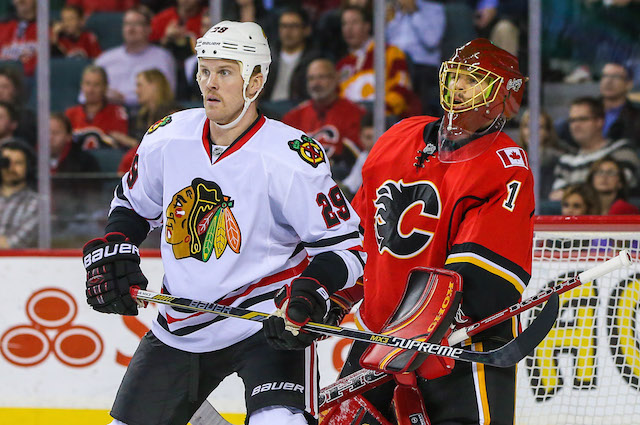 The Chicago Blackhawks placed Bryan Bickell on waivers on Friday. (USATSI)