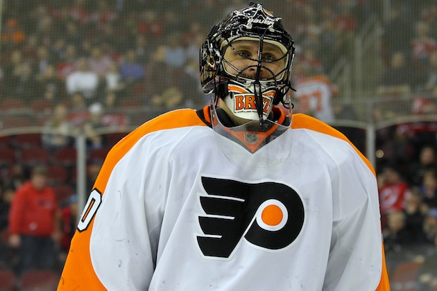Flyers owner Ed Snider gave Ilya Bryzgalov a vote of confidence.(USATSI)