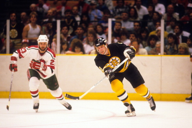 The Boston Bruins traded for Cam Neely in 1986. That trade still impacts the team today. (Getty)