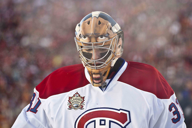 Carey Price is in a slump, but it's not time to panic in Montreal. (USATSI)